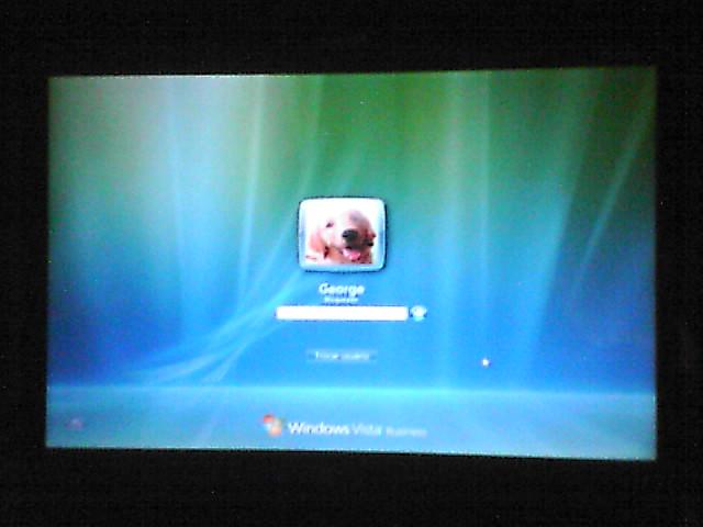 Windows VIsta rodando no Notebook