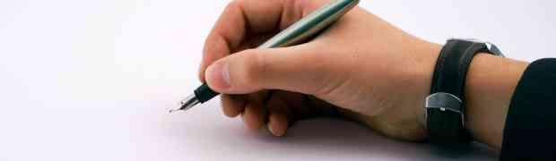 Um conselho: Apenas escreva