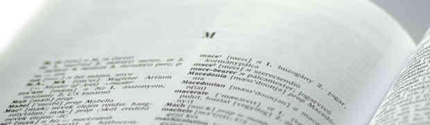 Na ponta da língua — Dicionários e Tesauros